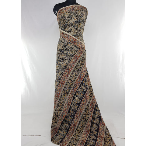 Handprinted Kalamkari Cotton saree