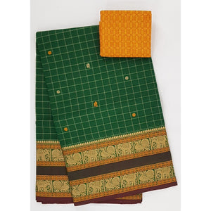 Kanchi cotton saree - Vinshika