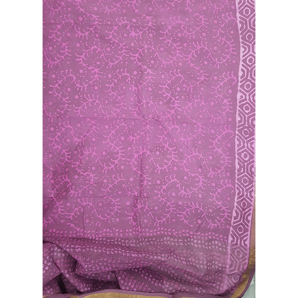 Kota cotton saree - Vinshika