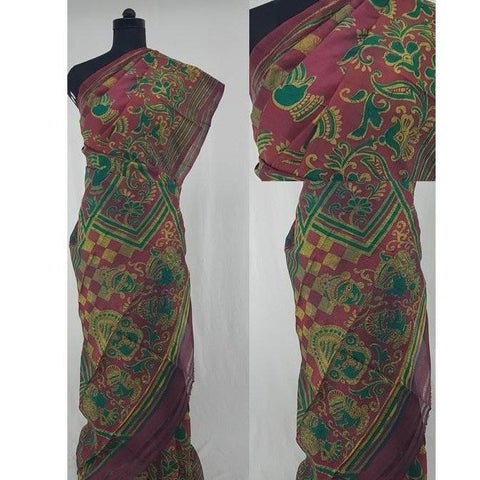 Murshidabad silk saree