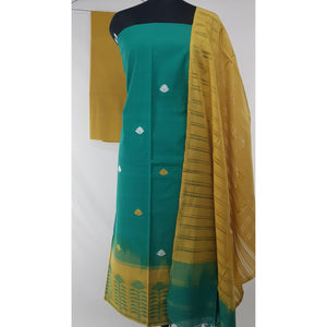 Handwoven Cotton Buttis Salwar set - Vinshika