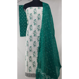 Warli printed Cotton Salwar set - Vinshika