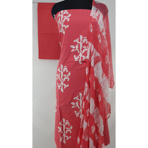 Batik Printed Cotton Salwar set - Vinshika