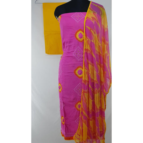 Bandhani Cotton Salwar set - Vinshika