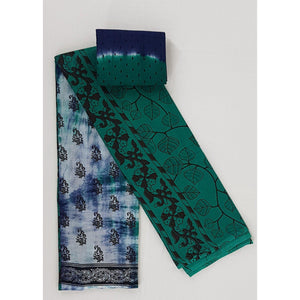 Hand Printed Pure Cotton saree - Vinshika