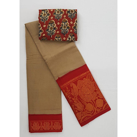 Madhurai Sungudi Big Border Pure Cotton Saree