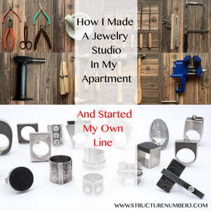 How I Made A Jewelry Studio In My Apartment And Started My Own Line