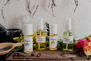 h. honeycup natural body oils