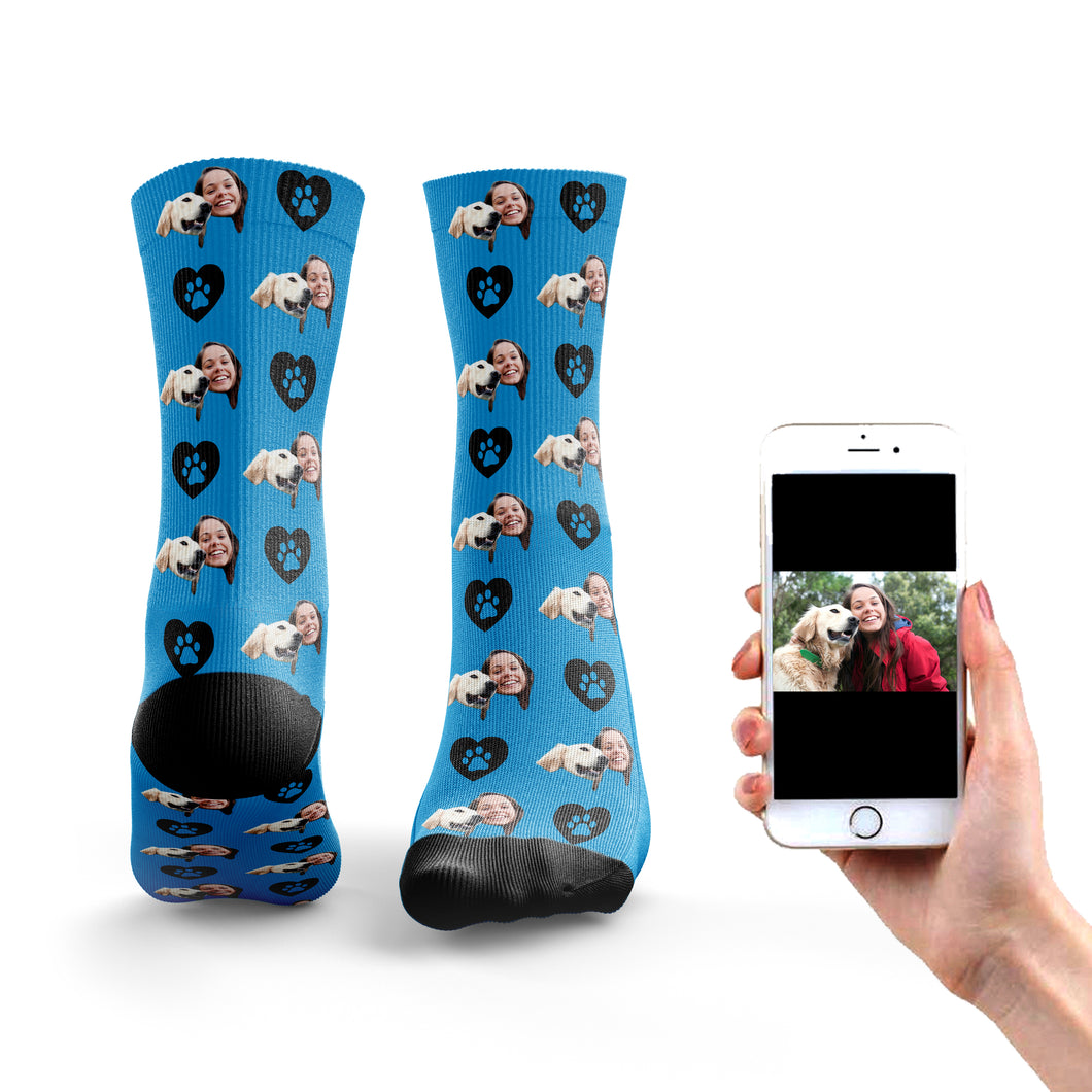 Dog and Owner Socks