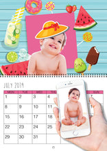 Load image into Gallery viewer, Personalised Baby Calendar