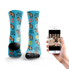 Load image into Gallery viewer, Donut What I'd Do Without You Socks