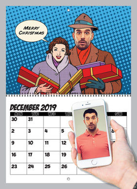 Comic Calendar For Him