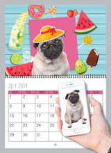 Load image into Gallery viewer, Personalised Dog Calendar