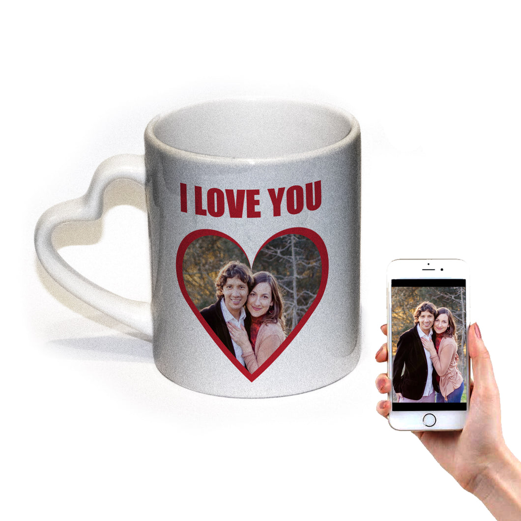 I Love You Personalised Mug