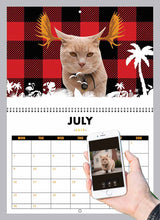 Load image into Gallery viewer, Cat Calendar 2019
