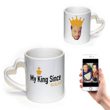 Load image into Gallery viewer, Personalised King Since Mug