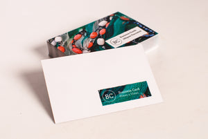 Uncoated Business Cards - Single Sided