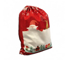 Load image into Gallery viewer, Luxury Personalised Santa Sack