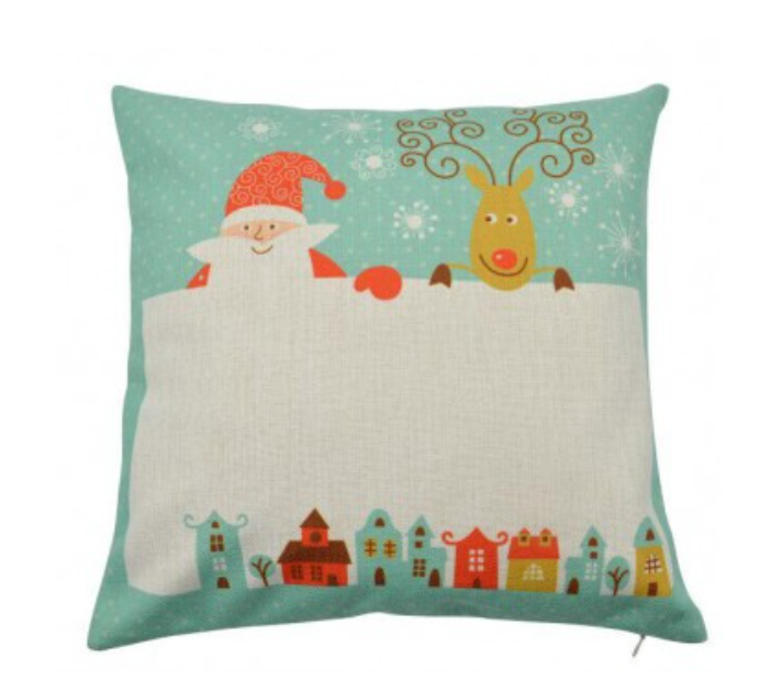 Personalised Christmas Pillow Cover