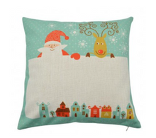 Load image into Gallery viewer, Personalised Christmas Pillow Cover