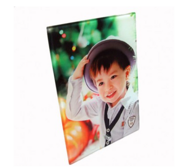 Personalised Portrait Glass Photo Frame