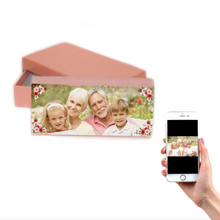 Load image into Gallery viewer, Personalised Vintage Flower Purse