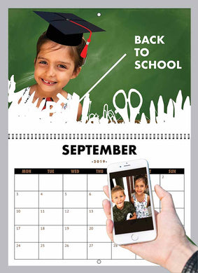 Your Child On A Calendar