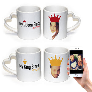 Personalised King Since Mug
