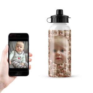 Customisable Metal Sports Flask