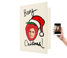 Load image into Gallery viewer, Berry Christmas Card