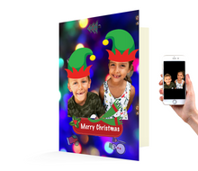 Load image into Gallery viewer, Kids Xmas Card