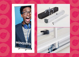 Mosquito pull up banner