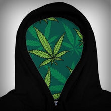 Green Blacked HI Pullover