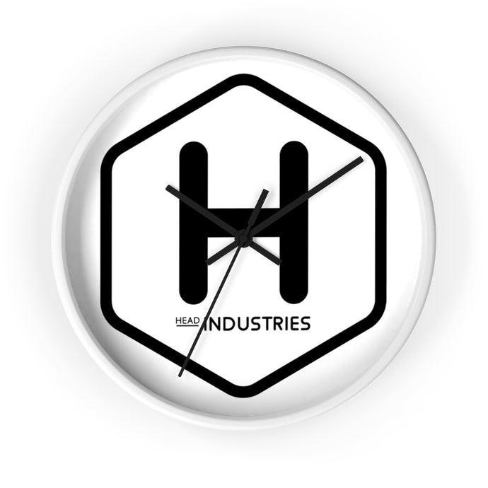 Head Industries Wall Clock