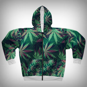 Purple Kush Zipper Hoody