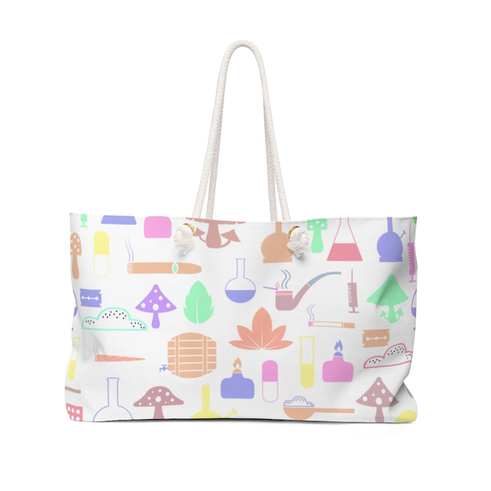 Cotton Candy Weekender Bag