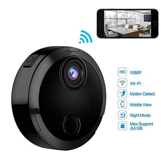Mini Wifi Camera with Infrared Night Vision