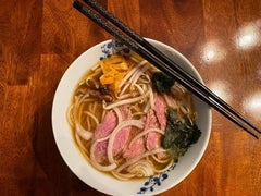 Finished Pho with Sirloin