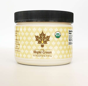 Certified Organic Maple Cream