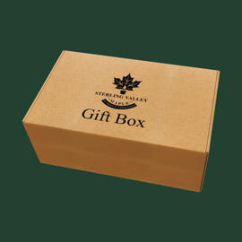 Sterling Valley Maple Customized Gift Boxes
