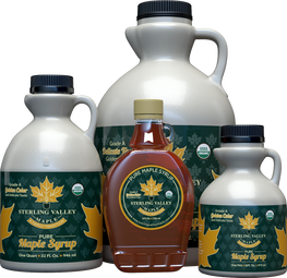 Sterling Valley Certified Organic Golden Syrup Collection