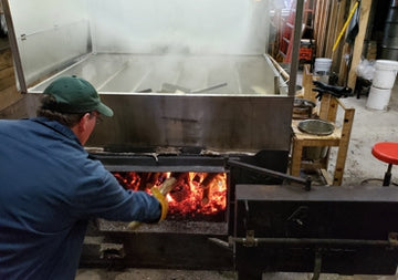 Sterling Valley Maple Boiling & Drawing off