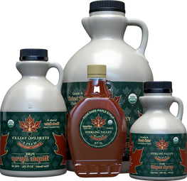 Sterling Valley Certified Organic Dark Syrup Collection