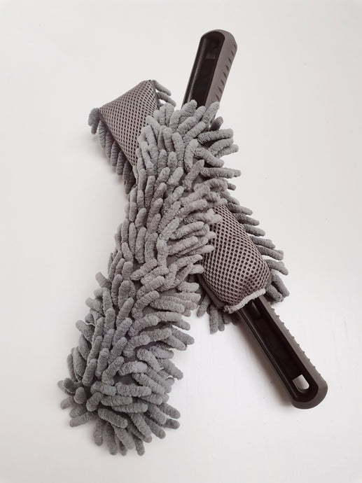MICC Long / Soft Microfibre Noodle Wheel Brush