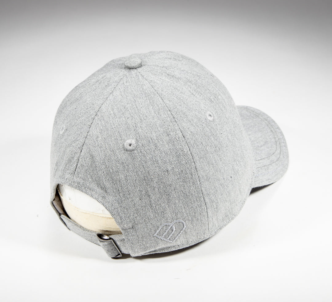 Heathered Gray Cotton Twill