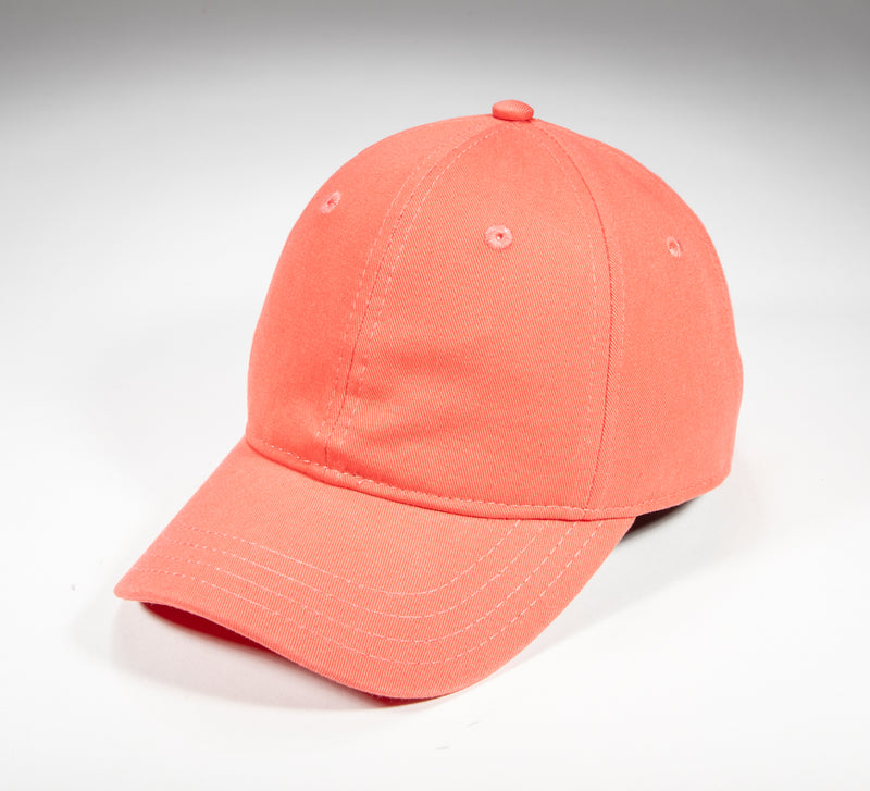 Coral Cotton Twill