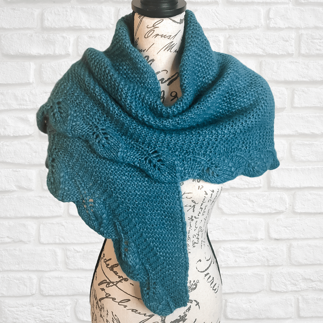 Inga Brushed Shawl