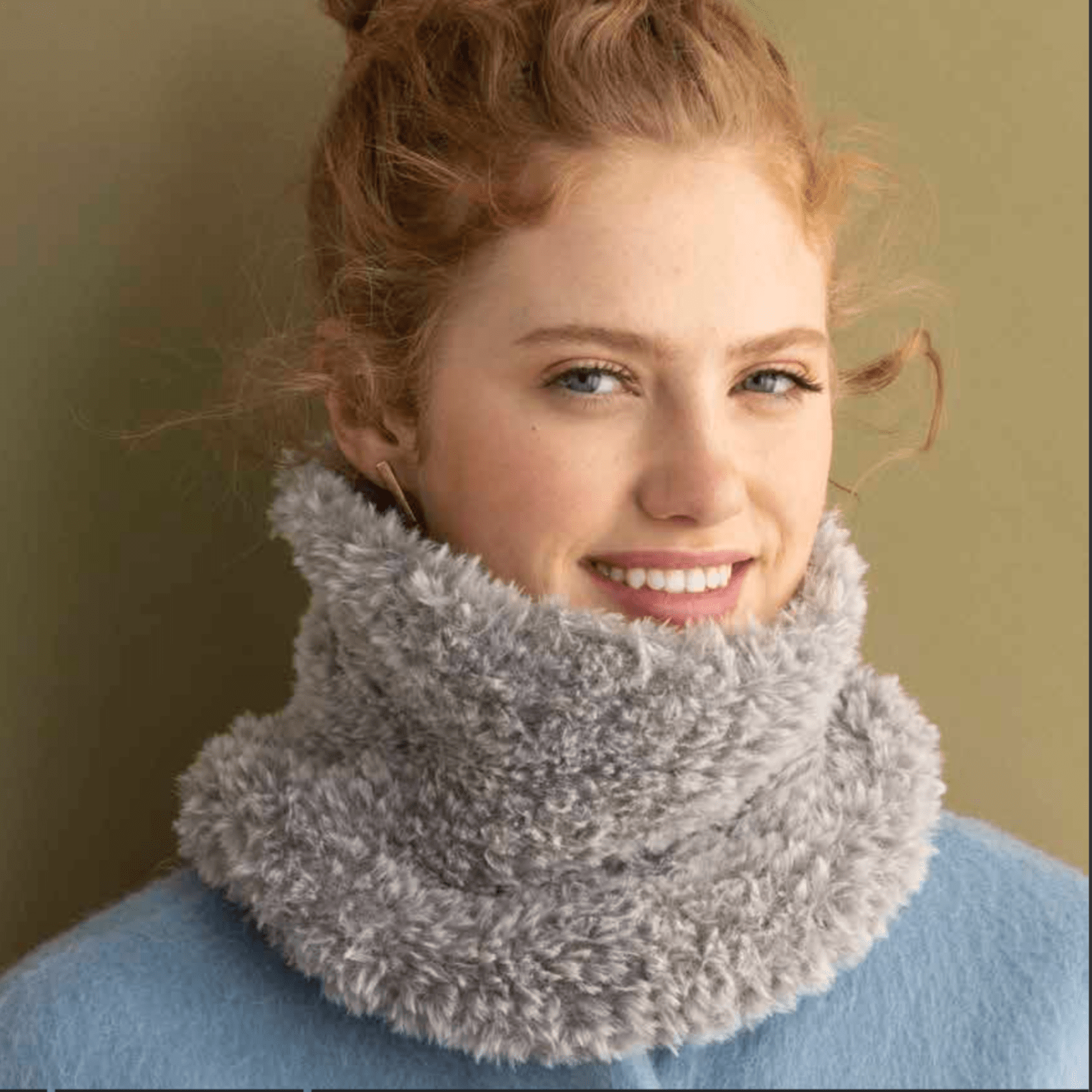 Faux Fur Cowl Kit