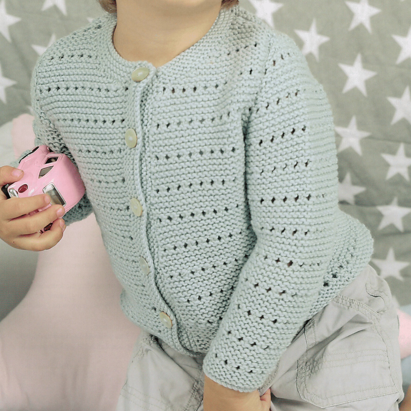 Sienna Baby Sweater + FREE BONUS book of baby patterns!*