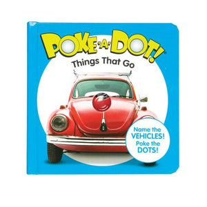 Melissa & Doug Poke-A-Dot Things That Go